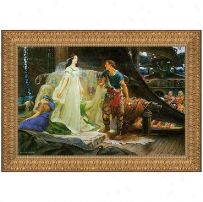 Tristan And Iseult, 1901, Canvas Replica Paintinng: Small