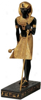 Tutankhamen, Pharaoh Of The Egyptian Realm Statue
