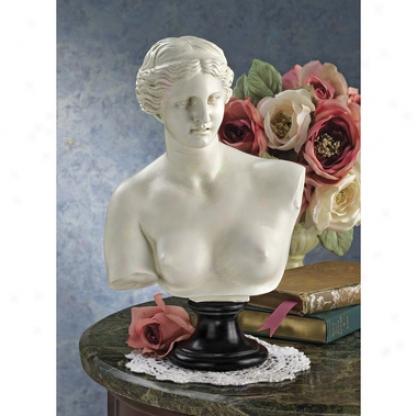 Venus De Milo Bust Statue