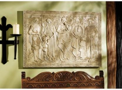 Virtues Of Honkr Sculptural Frieze