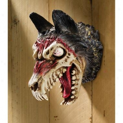 """""""werewolf Zombie"""" Wall Sculpture"""