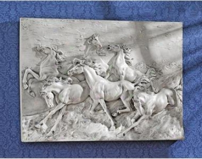 Wild Horse Stampede Wall Frieze