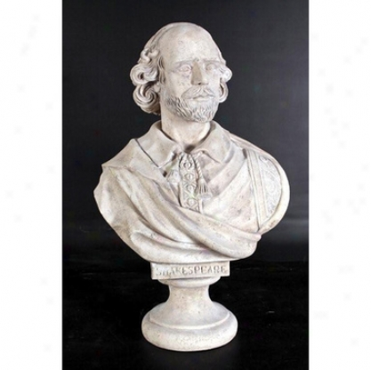 William Shakespeare Grand-scale Sculotural Bust