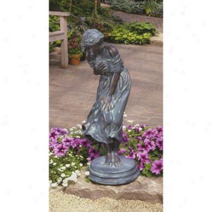 Windblown Quality Loxt Wax Bronze Statue