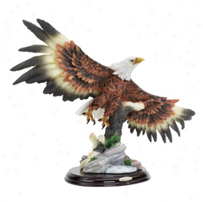 Wingspan Bald Eagle Statue