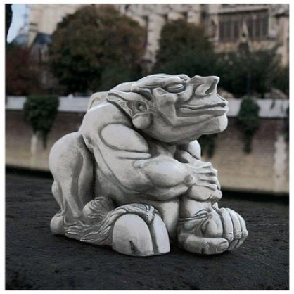 Winston Gargoyle Sculpture: Monster