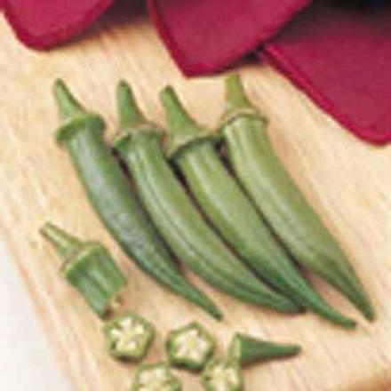 Okra, Emerald Green Velvet