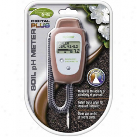Soil Ph Meter, Digital Plus