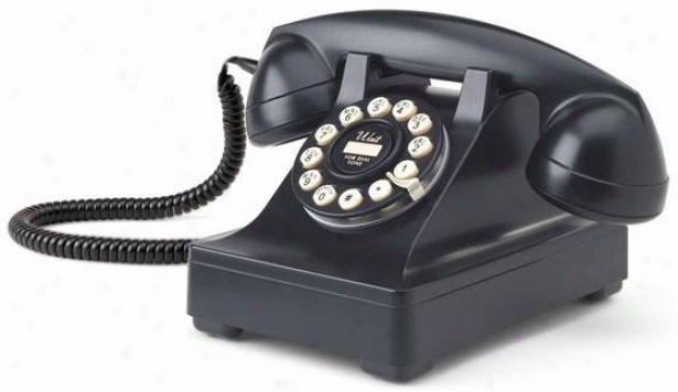 """302 Desk Phone - 5.5""""hx9""""w, Black"""