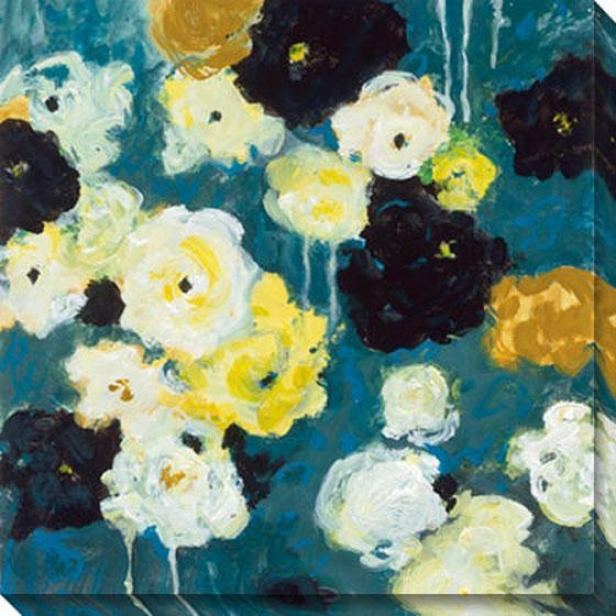 Abundance Ii Canvas Wall Art - Ii, Blue