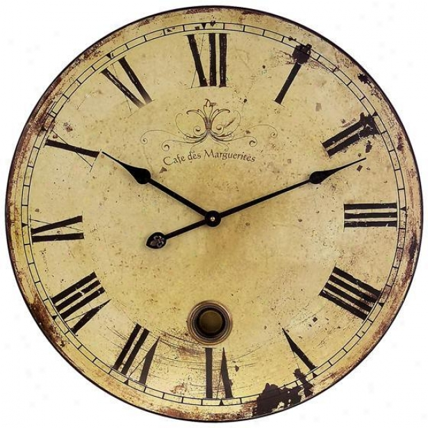 Having lived Oversized Wall Clock