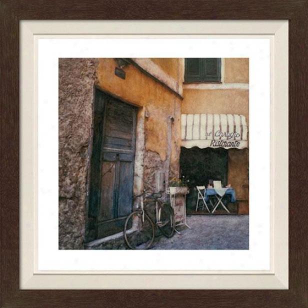 """""""al Carugio Framed Wall Art - 30""""""""hx30""""""""w, Fltx Espresso"""""""
