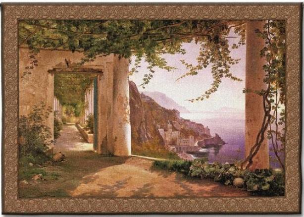 Amalfi Dai Cappuccini Tapestry - Slender, Multi