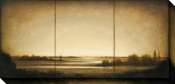 Amber Light I Canvas Wall Cunning - I, Sepia