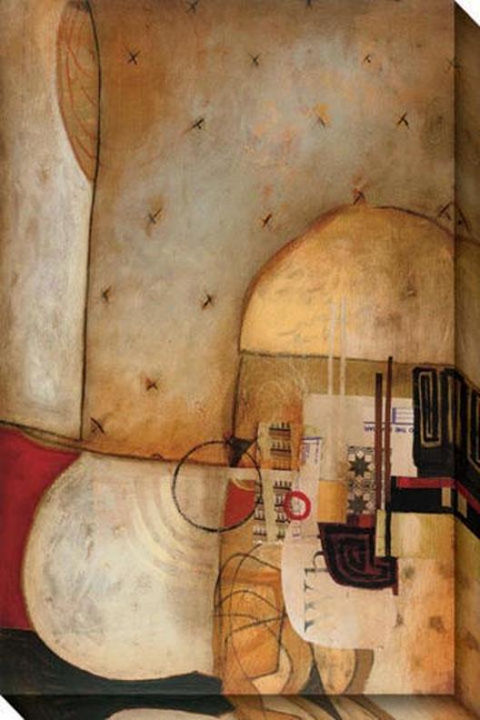 Ambiance Ii Canvas Wall Art - Ii, Pumpkin