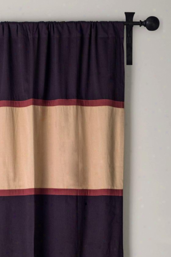 American Traditional Curtain Array - 42hx84w, Brown