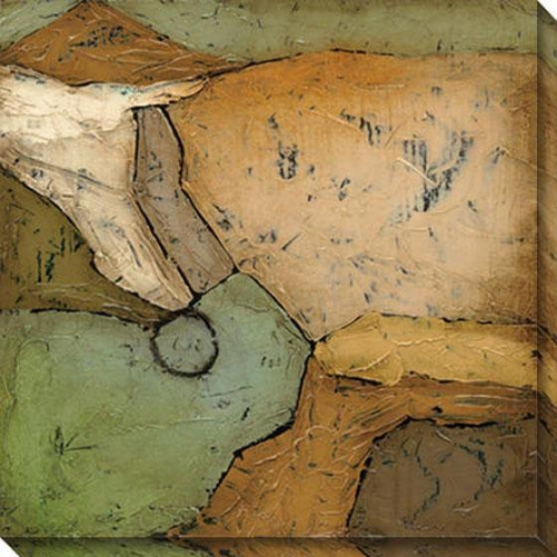Analogous I Canvas Wall Art - I, Earthtones