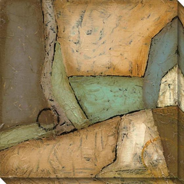 Analogous Ii Canvas Wall Art - Ii, Earthtones