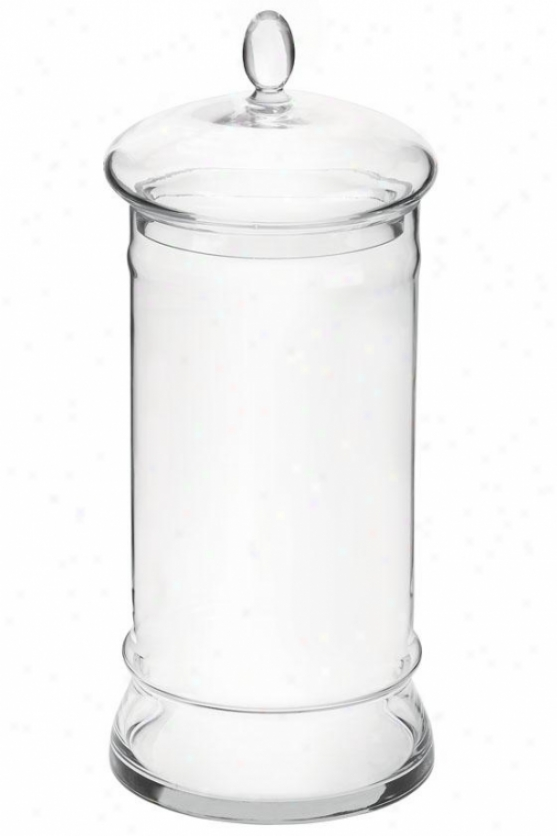 """""""apothecary Jar - 16""""""""hx7""""""""wx7""""""""d, Clear Glass"""""""