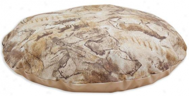 """archaeology Collection Pet Bed - 36"""" Round, Archaeology Imbrown"""