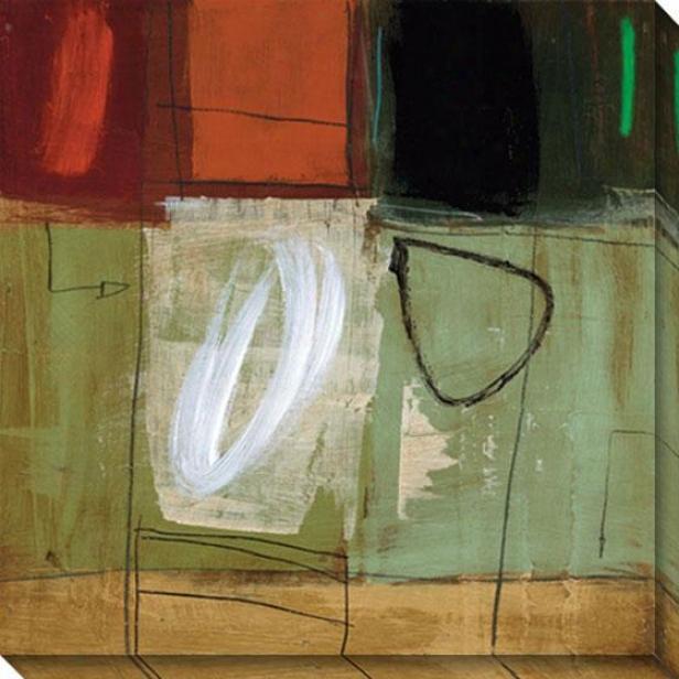 Assemble Iii Canvas Wall Art-  Iii, Green