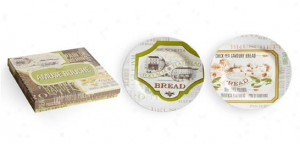 Assorted Plates - Fix Of 2 - Set Of 2, Multi