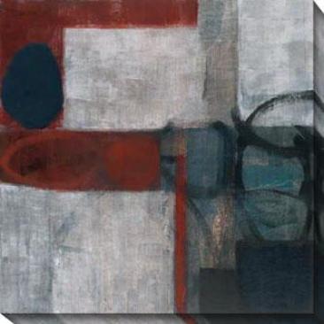 Aucax I Canfas Wall Art - I,, Gray/multi
