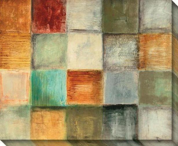 Balanced Sequence I Canvas Wall Art - I, Multi
