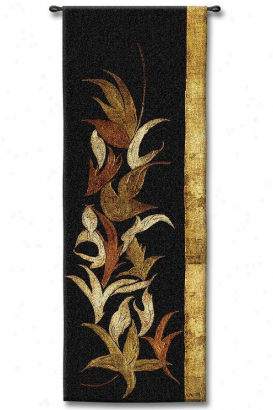 """black Shinwa I Tapestry - 53""""hx18""""w, Multi"""