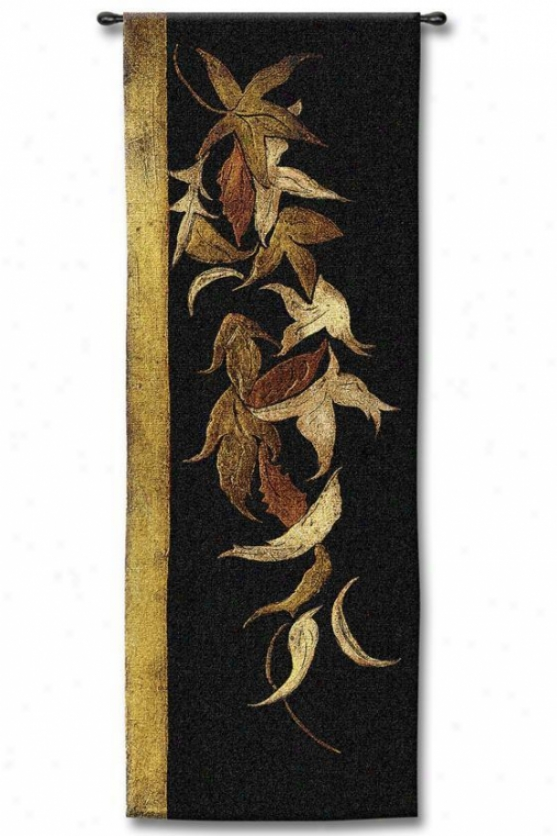 """black Shinwa Tapestry - 53""""hx18""""w, Multi"""