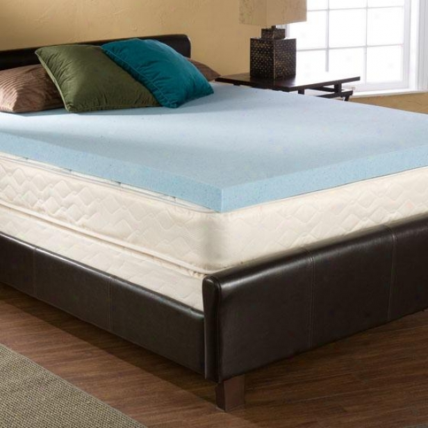 Bliss Gel-memory Foam - King, Blue