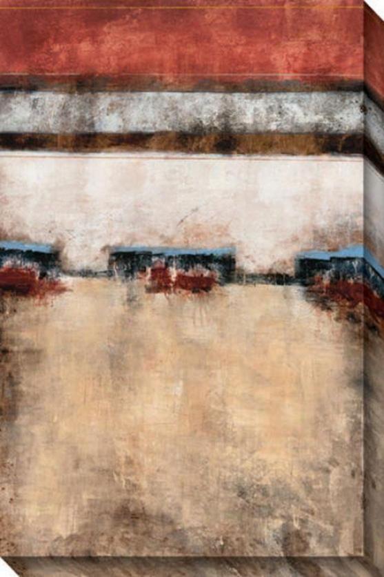 Confident Vision I Canvas Wall Art - I, Whte
