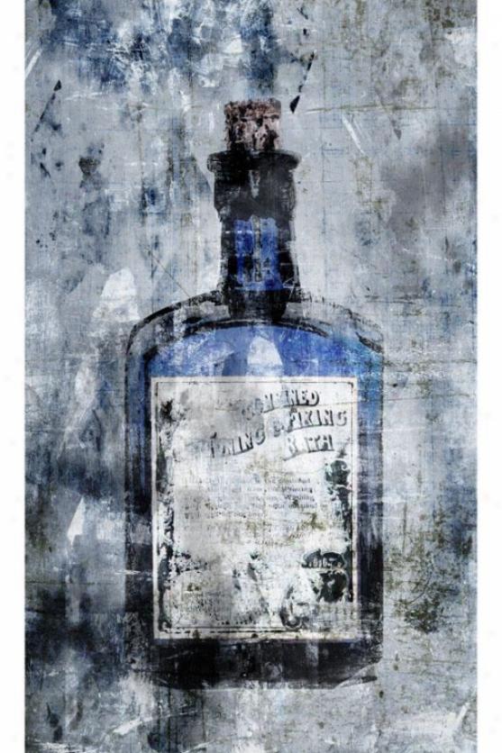 Botella Wall Art - I, Blue