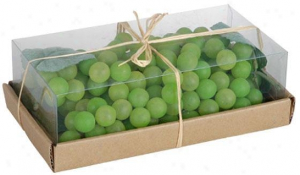 Box Of Grapes - Box, Green