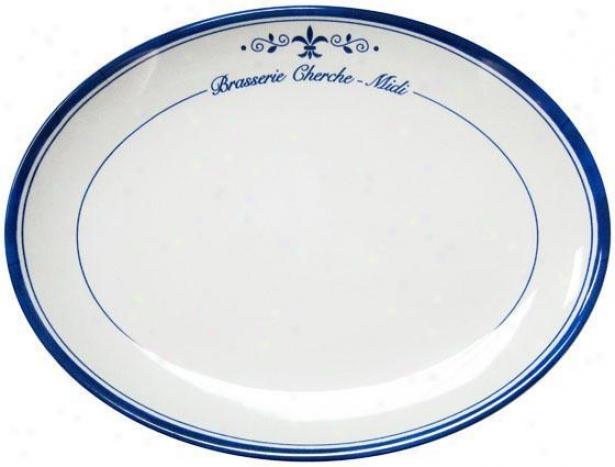 """""""brasserie Platter - 16""""""""d, White"""""""