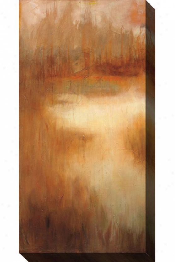 Brownwooc Path I Canvas Wall Art - I, Tan/rust