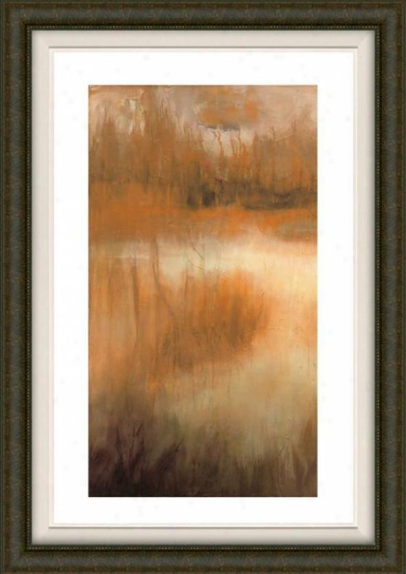 Brownwood Paath Ii Framed Wall Art - Ii, Fltd Burlwood