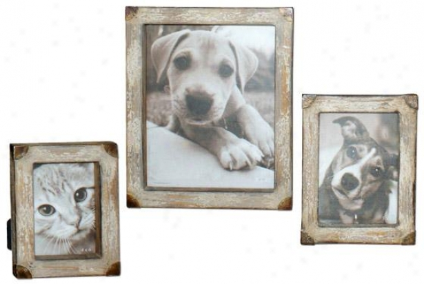 Cahaya Picture Frames - Regular Of 3 - Concrete Of Three, Tn