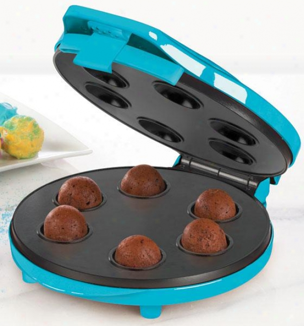 """cake Pop Maker - 4.5""""hx10""""wx11""""d, Blue"""