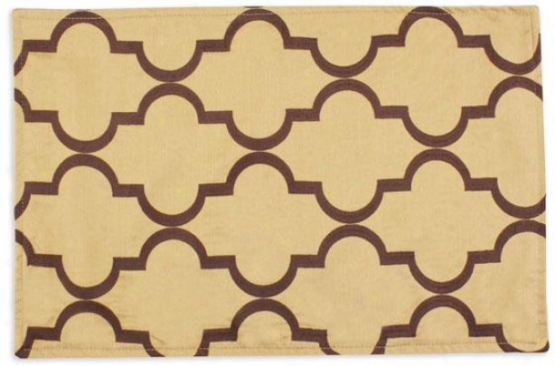 Callaway Collection Placemats - Lined Placemat, Decade Bronze