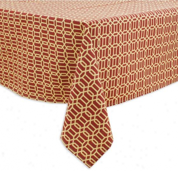 """""""callaway Collection Table Clergy - Tblclth 54x96"""""""", Fawle Ruby"""""""