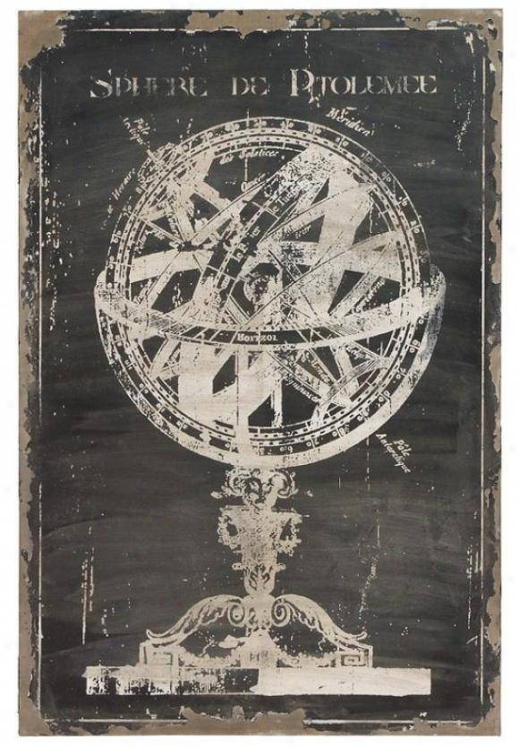 Canvas Wall Art - 46hx31w, Black