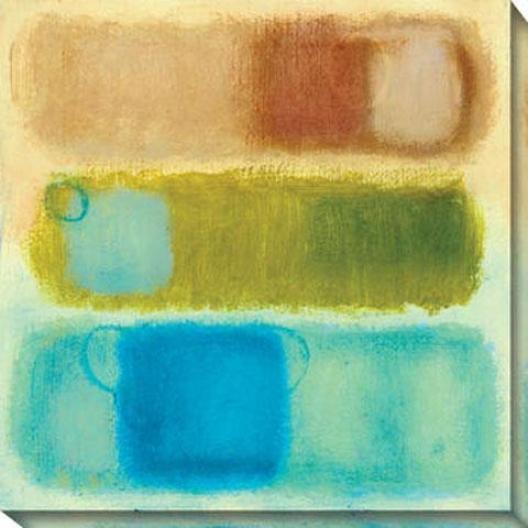 Captivate I Canvas Wall Art - I, Yellow