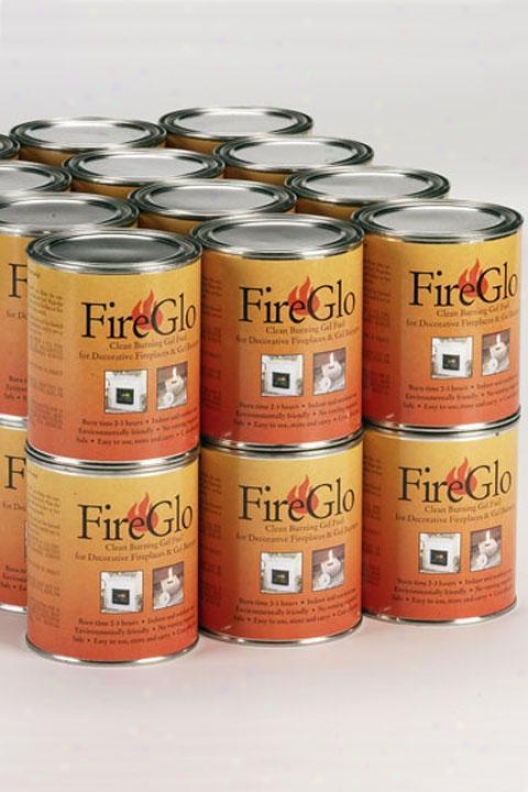 """carton Of Fireplace Gel Fuel - 9""""hx14""""w, Case Of 24"""