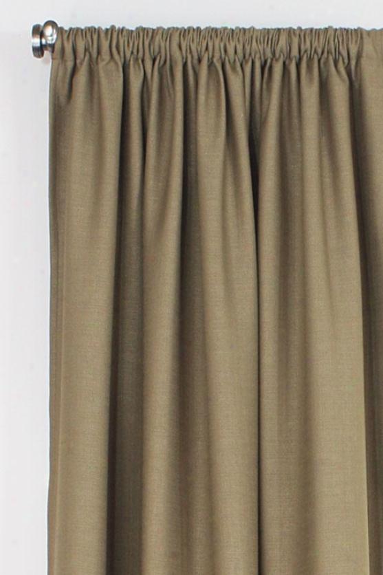 """chaatsworth Collection Curtain Panels - Rod Pocket Lined Panel, 54x108""""x, Summerhouse Chocolatex"""