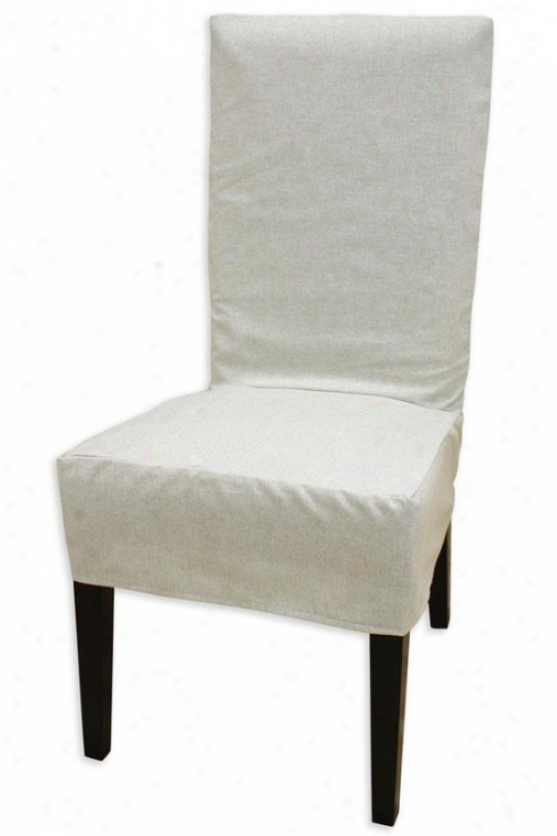 Chagsworth Collection Parsons Chair Slipcover - Parson Slip Cvr, Linen Natural