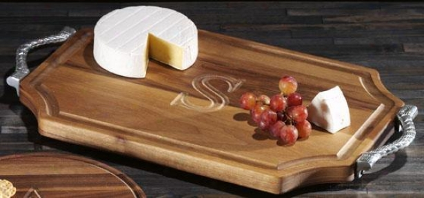 Chianti Cutting Board - Rope/walnut, X