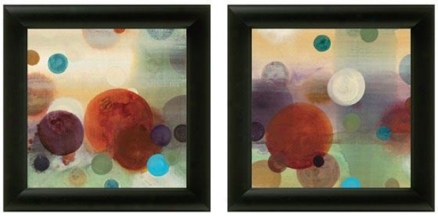 Circle Dreams Framed Wall Practical knowledge - Set Of 2 - Set Of Two, Bright Colors