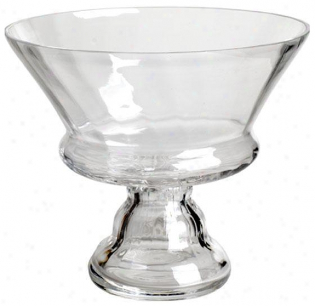 """clear Glass Hollow - 7""""x8"""", Clear Glass"""