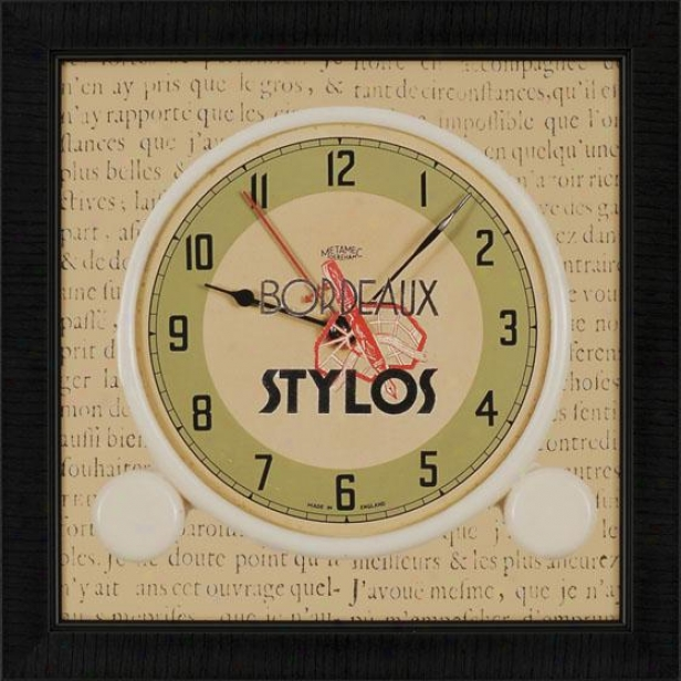 Clocks Wall Art - Set Of 3 - Set Of Three, Multi